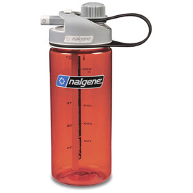 Nalgene Multi Drink Bidón 600ml, red